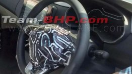 Renault RBC (Datsun GO+ rival) interior spy images confirm AMT option