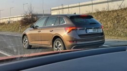 Skoda Scala spotted in the daylight for the first time [Update]