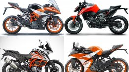 4 upcoming KTM bikes for India - 790 Duke, 390 Adventure, RC390..
