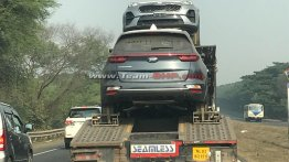 2019 Kia Sportage (facelift) spotted in India for the first time