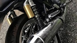 Grid7 Customs reveals performance exhaust for the Royal Enfield Interceptor 650