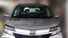 2019 Toyota Avanza series (facelift) leaked in Indonesia