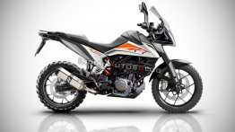 KTM 390 Adventure - First spy pics, render, expected price, features & specs