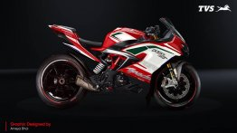 TVS Design Challenge brings neat decals to the Apache RR310