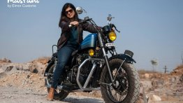 Customised Royal Enfield 500 Standard Bullet is called Mastani