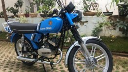 Check out a 1988 Royal Enfield Explorer in immaculate condition