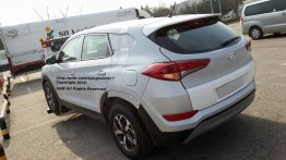 Possible Hyundai Santa Cruz pickup test mule spied in S. Korea