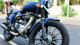 Custom Matte Blue Royal Enfield - Yea or Nay?