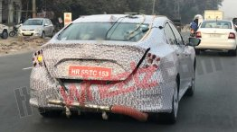 2019 Honda Civic spied emission testing in India