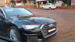 Eighth-gen Audi A6 spotted on test in Mahabaleshwar [Video]