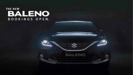2019 Maruti Baleno (facelift) teased, bookings open