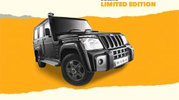 Modified Mahindra Bolero 'Limited Edition' is bolder & more upmarket