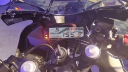 Bluetooth integrated instrument console for Yamaha bikes still in R&D