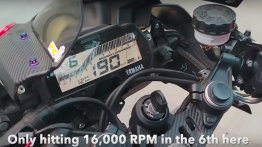 Souped-up Yamaha YZF-R15 V3.0 hits 16,000 rpm [Video]