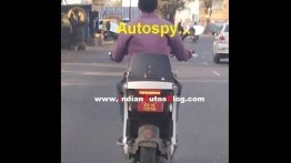 Mahindra GenZe 2.0 spied testing in India