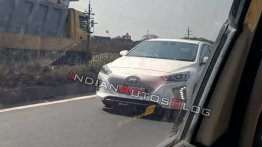 Hyundai Ioniq Electric spotted testing in Chennai