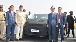 Kia SP2i SUV trial production commences at Anantapur plant