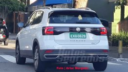 LATAM-spec VW T-Cross spotted undisguised post its unveil [Update]