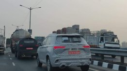 MG Hector road testing continues, spotted on the outskirts of Pune