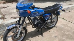Ultra-rare Royal Enfield Fury DX 175 restored by IAB reader