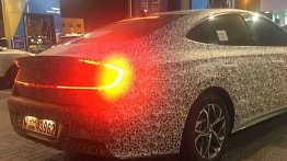 2020 Hyundai Sonata with solar panel roof spied in S. Korea [Update]