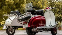 This 1960 Lambretta Li 150 Series II scooter took 14 months to get back its glory