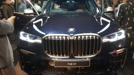 BMW X7 M50d showcased in India