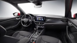 Skoda Kamiq interior officially revealed