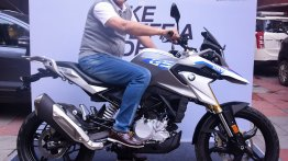 BMW G 310 GS delivered to 'Dada' Sourav Ganguly
