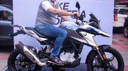 BMW G 310 GS delivered to 'Dada' Sourav Ganguly
