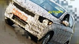 New Tata Tiago (facelift) spied for the first time