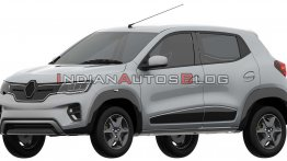 Renault Kwid EV (production Renault K-ZE) exterior design leaked