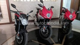 MV Agusta Turismo Veloce spied in India, to be launched soon