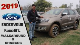 2019 Ford Endeavour (facelift) spied inside-out [Update]