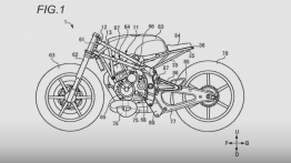 Design patents reveal a new modern-retro Suzuki Café Racer