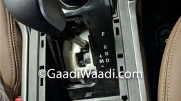 Tata Harrier AT's gearshift lever snapped