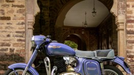 Restored 1973 Jawa 250 with the picturesque backdrop of Rajasthan is a sight to behold