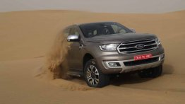 2019 Ford Endeavour accessories package revealed