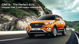 Hyundai Creta crosses 5 lakh sales milestone