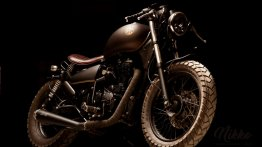 Modified Royal Enfield Thunderbird 500 Bobber by Eimor Customs