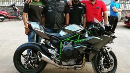 India's first and only Kawasaki Ninja H2R delivered