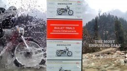 Royal Enfield Bullet Trials' details leaked ahead of launch - Report