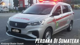 Check out the Suzuki Ertiga in ambulance livery [Video]