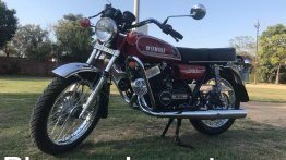 1986 Yamaha RD350 revived; gets Bajaj Avenger's disc brake