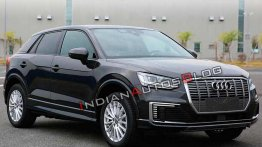 Audi Q2L e-tron leaked ahead of debut next month