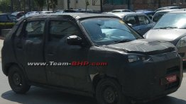 Production Maruti Concept Future-S spied again, interior partially revealed [Update]