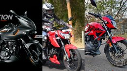 Bajaj Pulsar 180F Vs TVS Apache RTR 160 4V Vs Hero Xtreme 200R - Spec Sheet Comparo