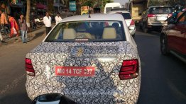 Possible BSVI-compliant VW Vento TSI test mule spied [Update]
