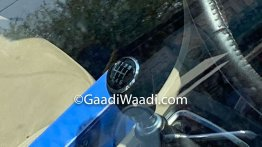 Maruti Ciaz 1.5L diesel's 6-speed MT lever spied