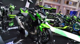India-bound Kawasaki Z400 - BIMS 2019 Live